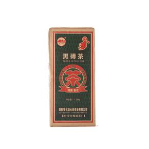 湖南安化黑砖茶 连心岭 边销茶 1.25kg