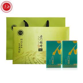 2020新茶 石门银峰银毫绿茶茶叶 明前特级绿茶茶叶礼盒装200g